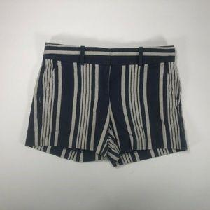 Ann Taylor Womens Shorts Blue & White Size 0